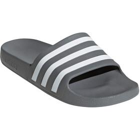 adidas Adilette Aqua Slides Men grey three/footwear white/grey three
